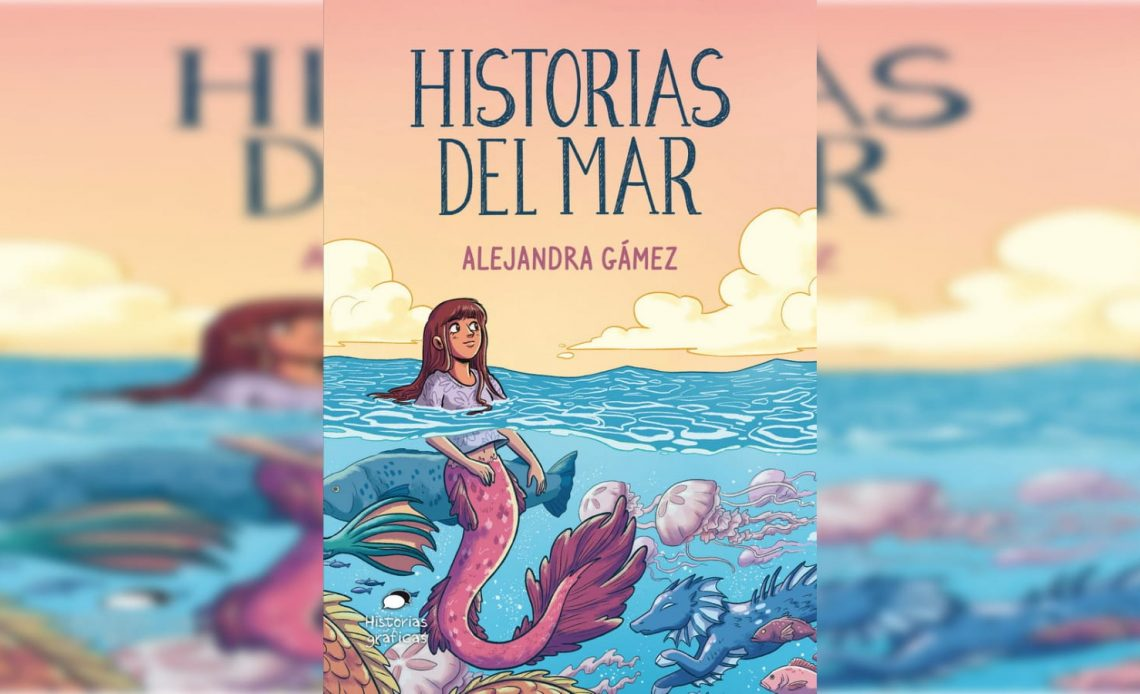 Historias del mar (Océano) es una obra ilustrada de Alejandra Gámez.